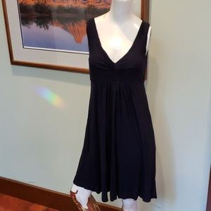 J Crew Navy blue stretchy dress